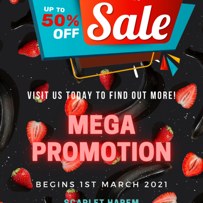 Mega Promotion Starting 1st March!!